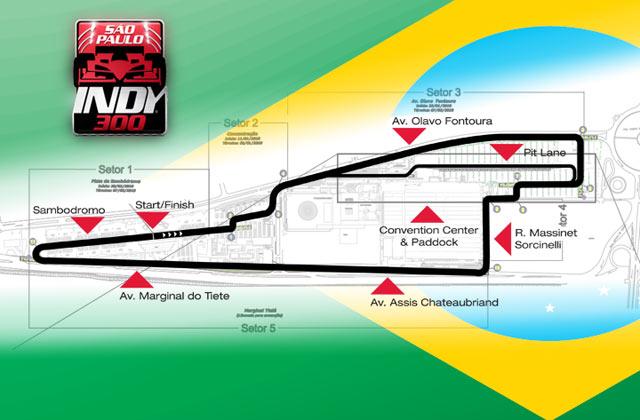 IRL:開幕戦ブラジルのコースレイアウトが発表!(1)