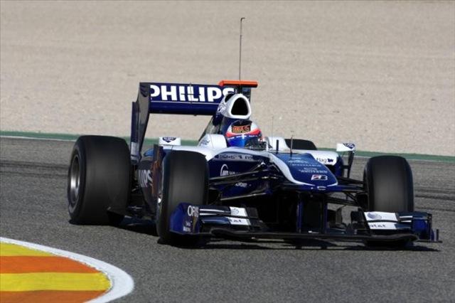 F1合同テストがスタート。7チームの新車が初対決!(5)