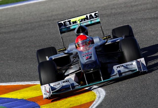 バレンシアテスト初日:フェラーリのマッサがトップ。シューは3番手(3)