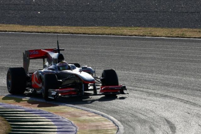 F1バレンシアテスト2日目