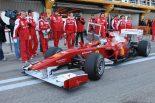 F1 | アロンソ、フェラーリ初走行で総合トップも「今の段階では各チームの力関係は全く分からない」