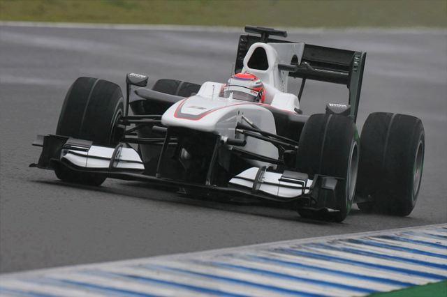 F1ヘレステスト2日目:BMWザウバー/可夢偉がトップタイム。シューマッハーは6番手(1)