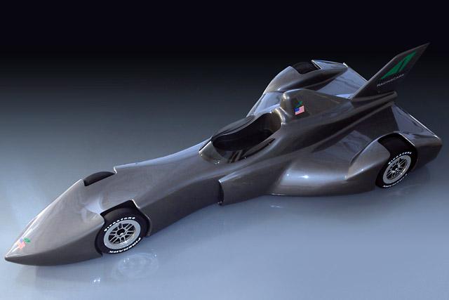 まるで戦闘機!? デルタウイングが12年用インディカーのコンセプトを公開(2)