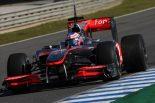 F1 | バトン、シートポジションが改善され、開発作業も順調に