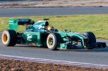 F1 | ファウジー、ロータスのシェイクダウンを担当「十分にいい感触」