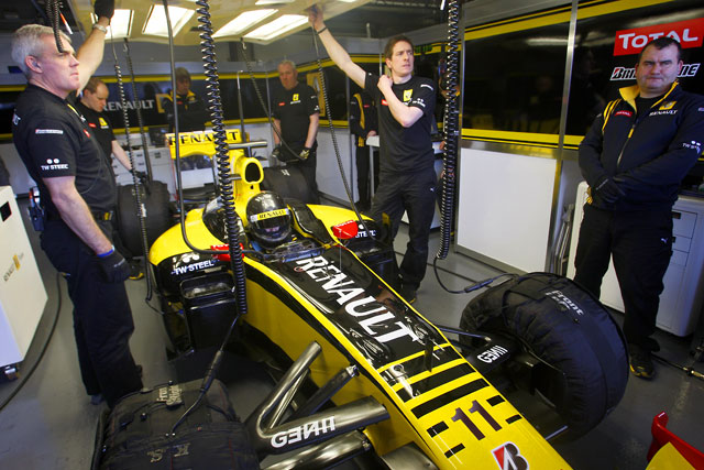 F1ヘレステスト最終日:ハミルトンが最速で4日間を締めくくる(4)