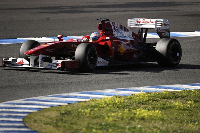 アロンソ、フェラーリF10の仕上がりに自信。「100パーセントに近づきつつある」(1)