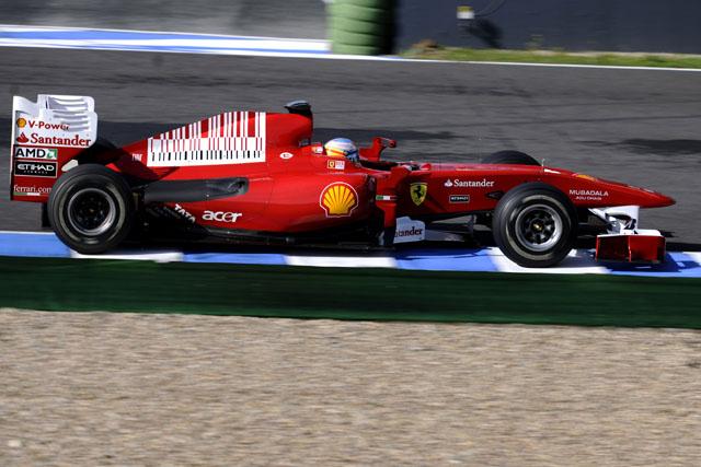 「フェラーリが安定性ではトップ」とバトン(1)