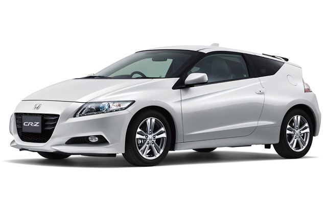【Honda】新型ハイブリッドカー「CR-Z」を発売(1)