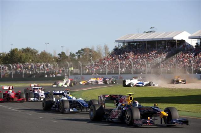 カンタスがオーストラリアGPのタイトルスポンサーに(1)