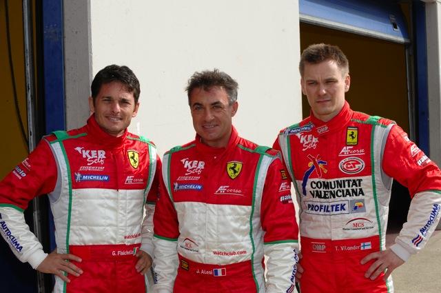 フィジケラがフェラーリのGTマシンを初テスト。アレジも参加(4)