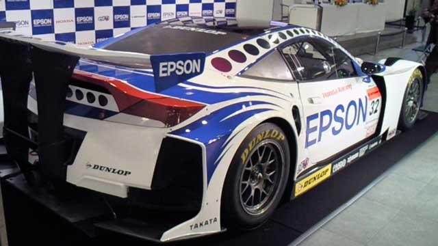 EPSON NAKAJIMAレーシング記者発表 HSV-010 GT(2)