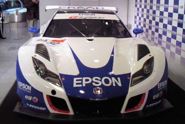 EPSON NAKAJIMAレーシング記者発表 HSV-010 GT(4)