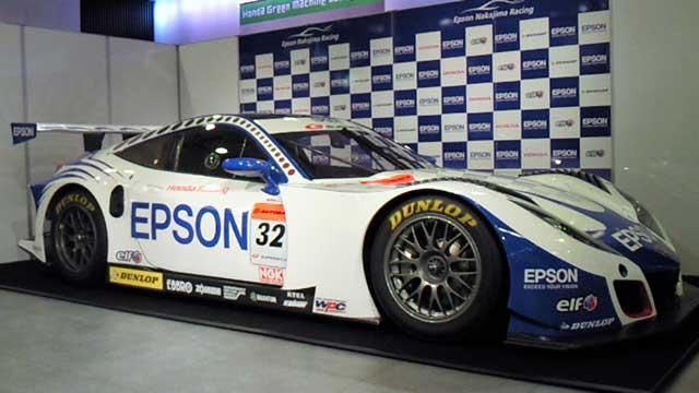 EPSON NAKAJIMAレーシング記者発表 HSV-010 GT(5)