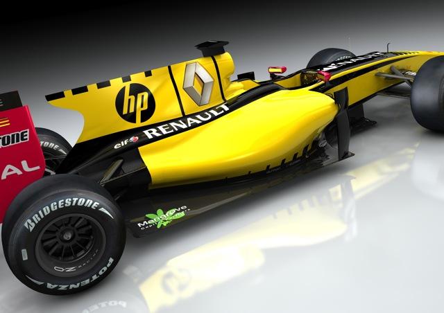 ルノーF1、HPと2年間の大型契約を結ぶ(1)
