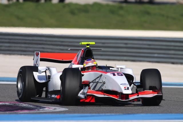 GP2合同テストがスタート、12チームから25人のドライバーがエントリー(1)