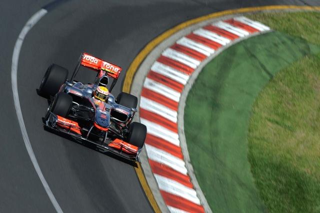 F1オーストラリアGP、FP2はマクラーレン勢が1-2。可夢偉は13番手(1)