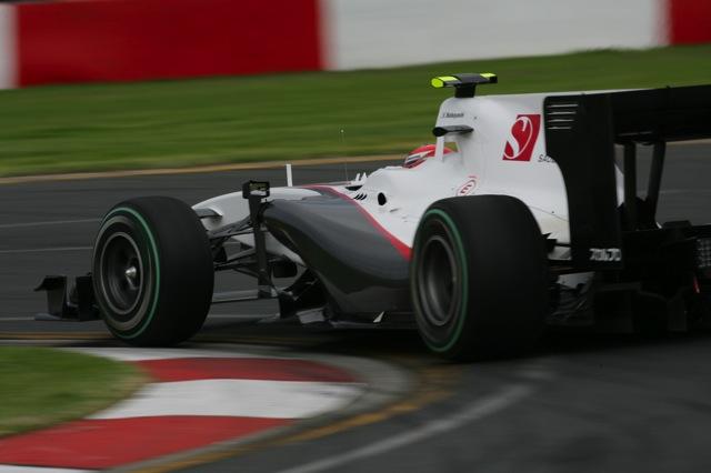 F1オーストラリアGP、FP2はマクラーレン勢が1-2。可夢偉は13番手(4)