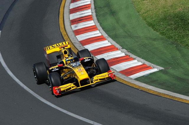 F1第2戦オーストラリアGP開幕、FP1はルノーのクビカがトップ。可夢偉は2度の赤旗原因に(2)