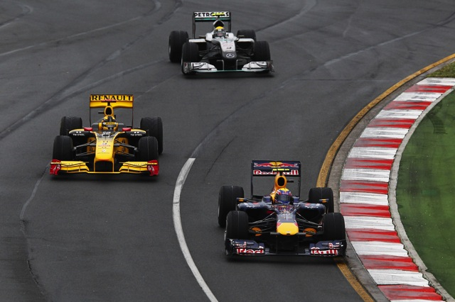 F1オーストラリアGP決勝、混乱のレースをバトンが2年連続で制す。ベッテルにまたも不運(4)