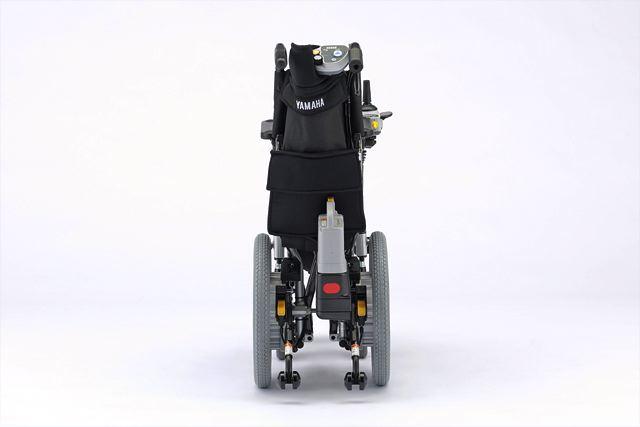 【ヤマハ発動機】16インチホイールのコンパクトな軽量型電動車イス 「タウニィジョイX(エックス)」新発売(2)