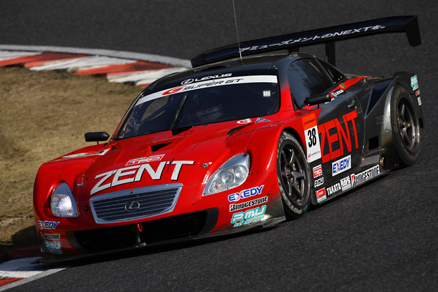 【トヨタモータースポーツニュース】SUPER GT第2戦岡山 LEXUS SC430が2−3位表彰台獲得(3)