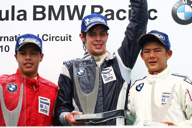 【KT&SON】フォーミュラBMWパシフィックシリーズ開幕!! 15歳日本人ドライバー桜井孝太郎選手が3位表彰台の快挙!(1)