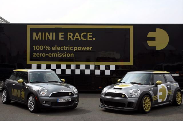 【BMW Group PressClub Japan】MINI Eが電気自動車として初めてサーキット・スピードでニュルブルクリンク北コースを走破(2)