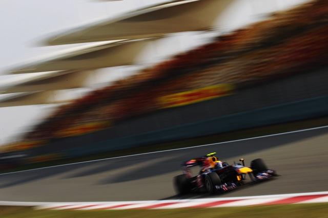 F1中国GP、FP3はレッドブルが1-3。可夢偉が10番手(1)