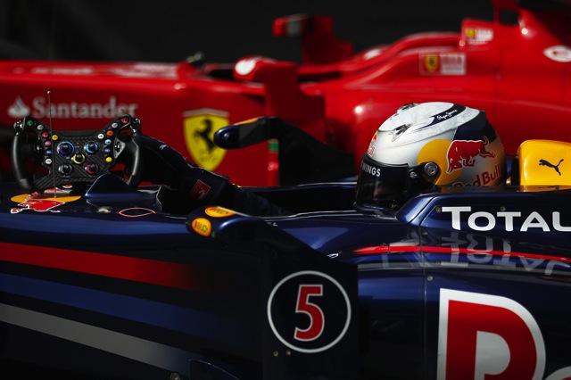F1中国GP予選、ポールはベッテル。レッドブルが再びフロントロウ独占。可夢偉は15番手(1)