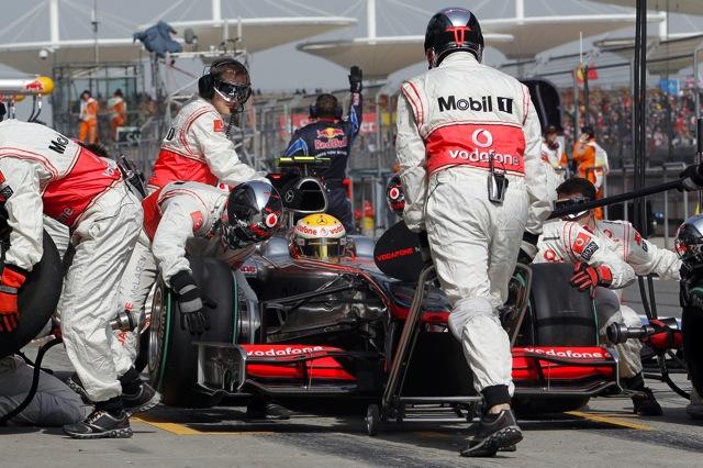 F1中国GP予選、ポールはベッテル。レッドブルが再びフロントロウ独占。可夢偉は15番手(4)