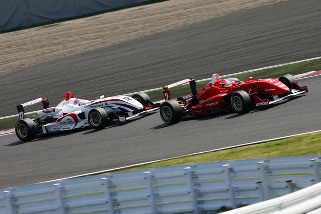 全日本F3第2戦:国本、開幕2連勝! 嵯峨を退け開幕ダッシュに成功(4)