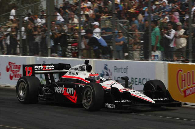 【Honda】IRL第4戦 ポイントリーダーのウィル・パワーが3戦連続ポールポジションを獲得 武藤英紀は予選11番手、佐藤琢磨は予選19番手(1)