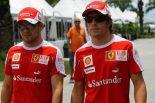 F1 | フェラーリ、アロンソとマッサの関係悪化を否定。一部メディアを非難