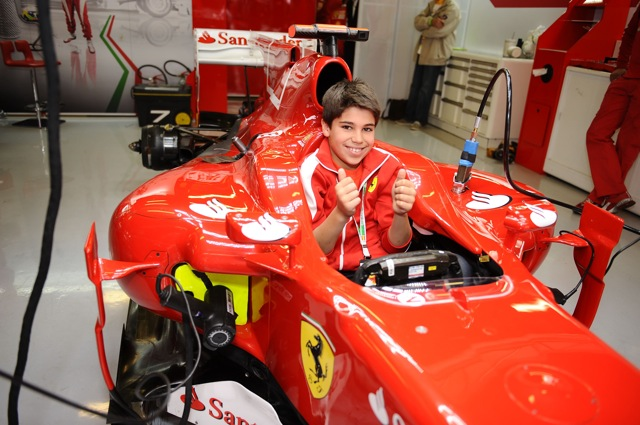 フェラーリ・ドライバー・アカデミーに最年少11歳のカートレーサーが加入(1)