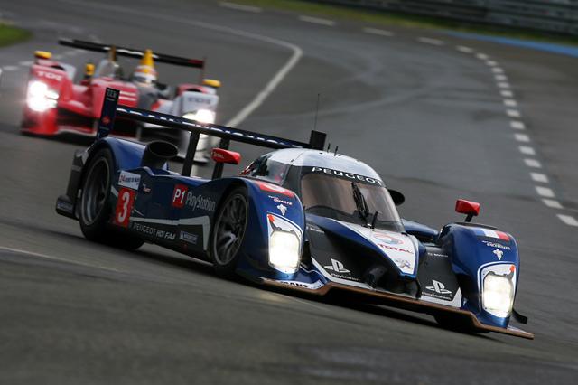 ル・マン24時間予選2日目は悪天候 初日のタイムで3号車プジョーがPP獲得(2)