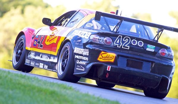 RX-8がGrand-Am GT第7戦ミッドオハイオで表彰台を獲得(1)