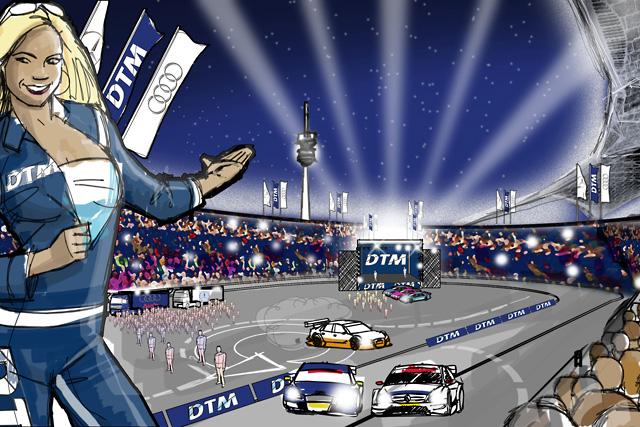 DTM、来季オリンピックスタジアムを使用しイベントを開催(1)