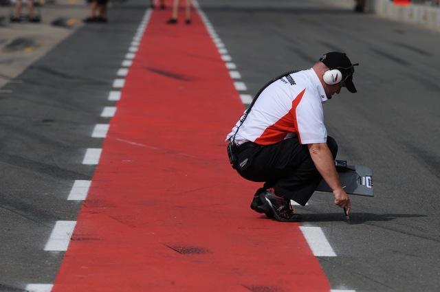 「暑くなればタイヤのオーバーヒートもある」と浜島氏(1)