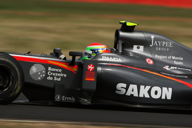 2010年イギリスGP 山本左近(HRT...