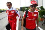 F1   マッサ「ナンバー2だと思ったらレースをやめる」