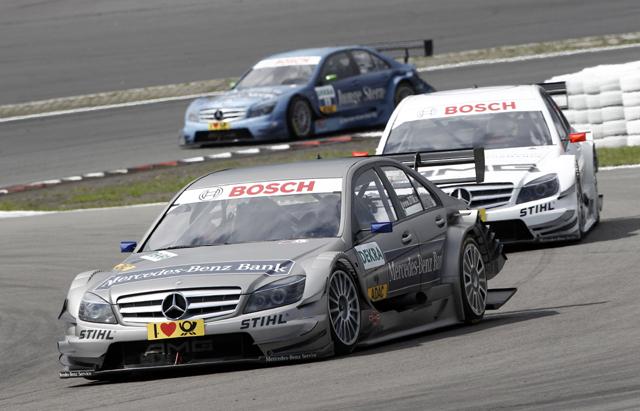 DTM:シュペングラーが優勝、選手権リードを広げる(1)