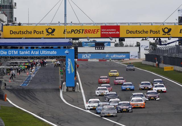 DTM:シュペングラーが優勝、選手権リードを広げる(3)
