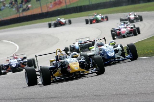イギリスF3:ベルニュ、連勝でさらにリードを拡大(1)