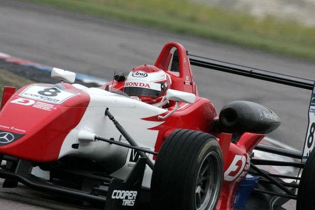 イギリスF3:ベルニュ、連勝でさらにリードを拡大(3)