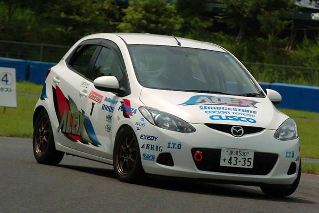 もてぎ全日本ジムカーナで、デミオが1〜3位(1)