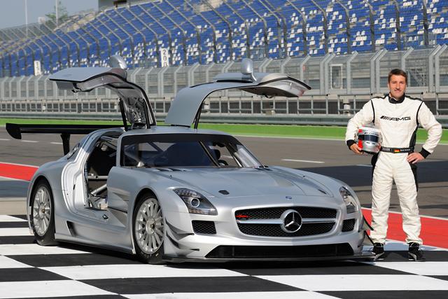 メルセデスSLS AMG GT3が実走テストを開始(2)