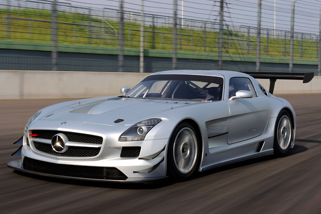 メルセデスSLS AMG GT3が実走テストを開始(4)