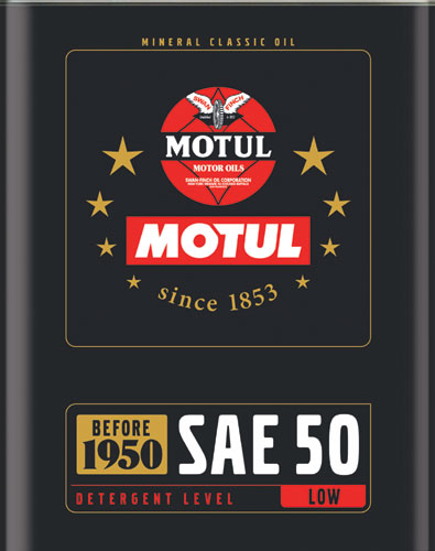 MOTULがクラシックカー向け『CLASSIC OIL シリーズ』を発売(2)