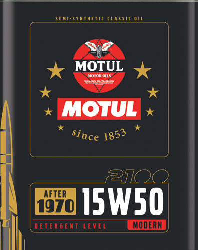 MOTULがクラシックカー向け『CLASSIC OIL シリーズ』を発売(3)